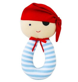 Alimrose Designs Pirate Grab Rattle Red