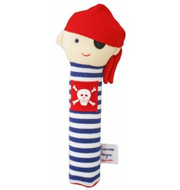 Alimrose Designs Pirate Squeaker Navy Stripe
