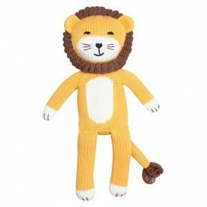 """Zubels Harry the Courageous Lion Doll 12"""""""