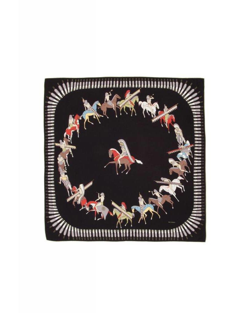 Rani Arabella Printed Cashmere American Indian Shawl