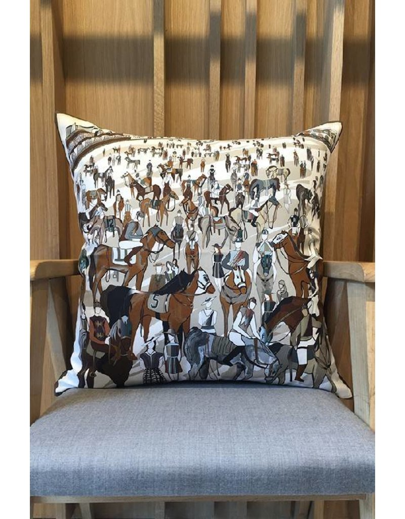 Rani Arabella After the Race Brown Pillow