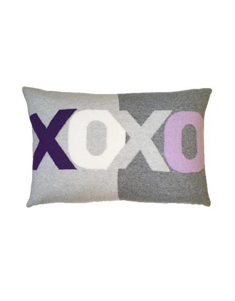 Rani Arabella XOXO Purple Pillow