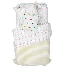 "Pehr Designs Painted Dots Duvet Cover 86""L x 68""W"