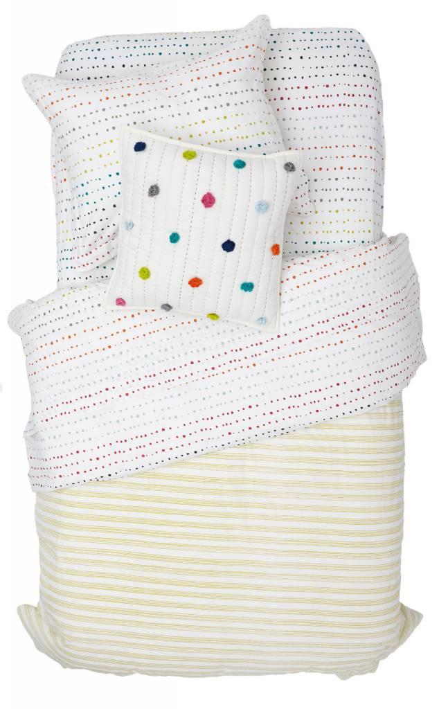"Pehr Designs Painted Dots Duvet Cover 86""L x 68""W"