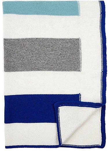 Rani Arabella Yoyo Blue Baby Blanket