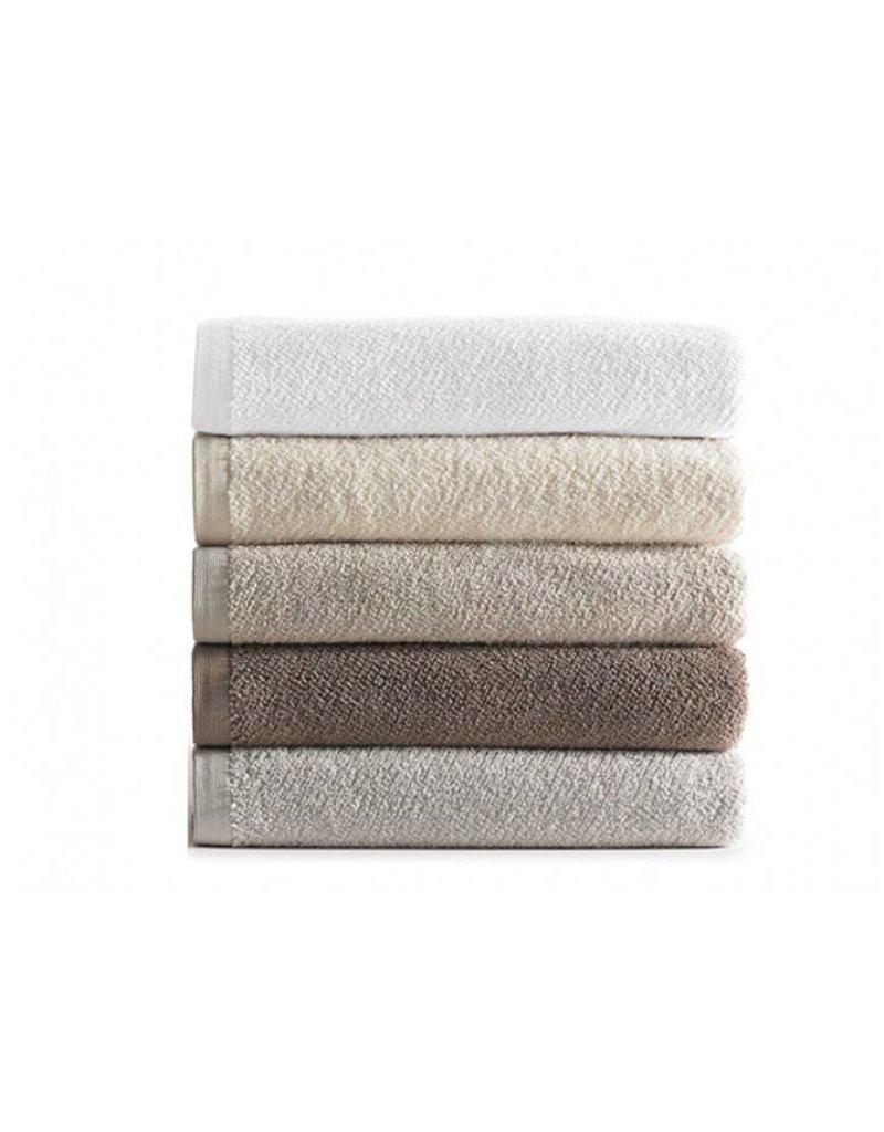 Peacock Alley Jubilee Wash Towel - Linen 12x12