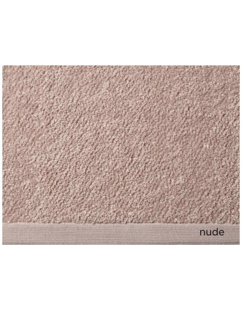 Peacock Alley Jubilee Hand Towel - Nude 16x30