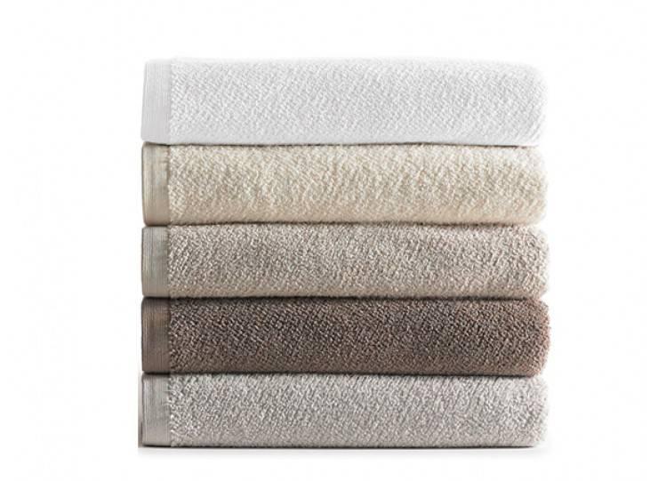 Peacock Alley Jubilee Wash Towel - Driftwood 12x12