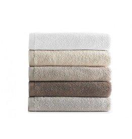Peacock Alley Jubilee Wash Towel - Ivory 12x12
