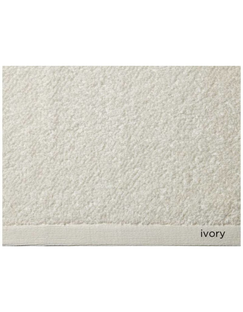 Peacock Alley Jubilee Wash Towel - Ivory 12x12