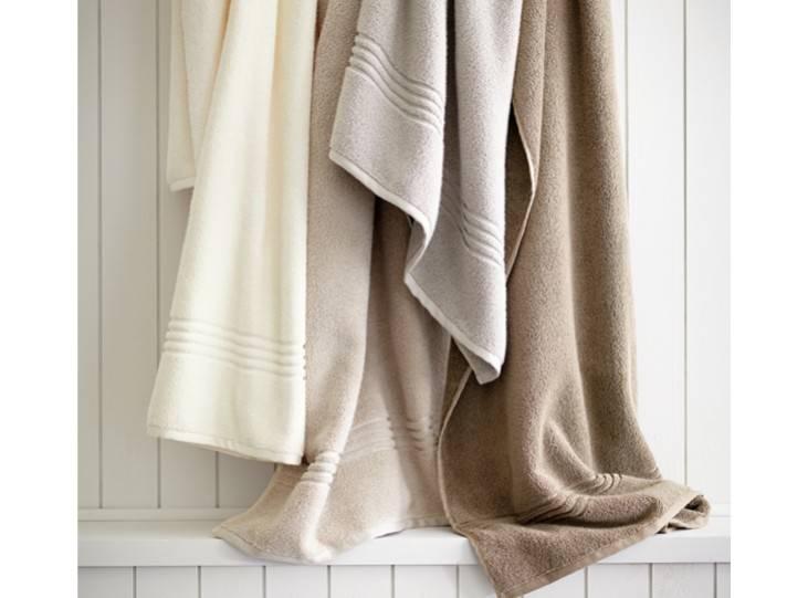 Peacock Alley Chelsea Bath Towel - Linen 30x54