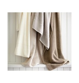 Peacock Alley Chelsea Bath Towel - Linen 12x12