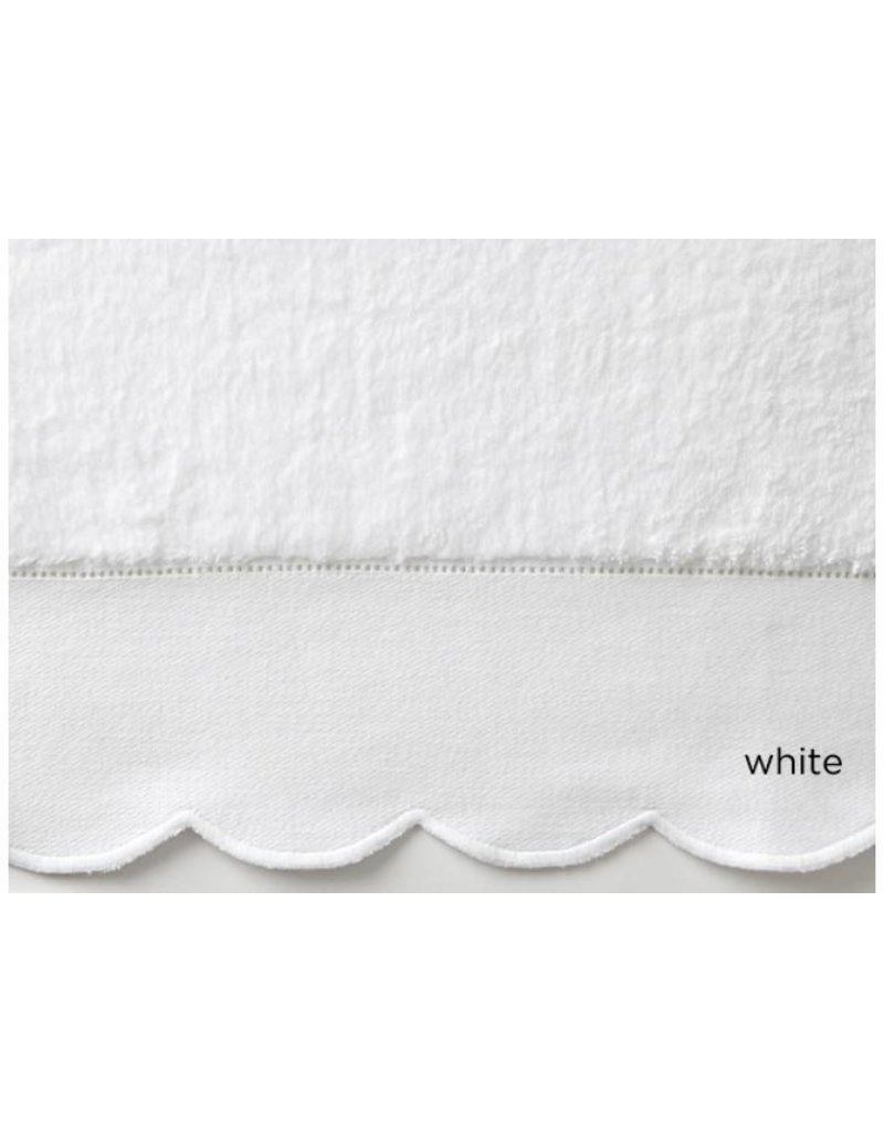 Peacock Alley Overture Bath Towel - White  27x54