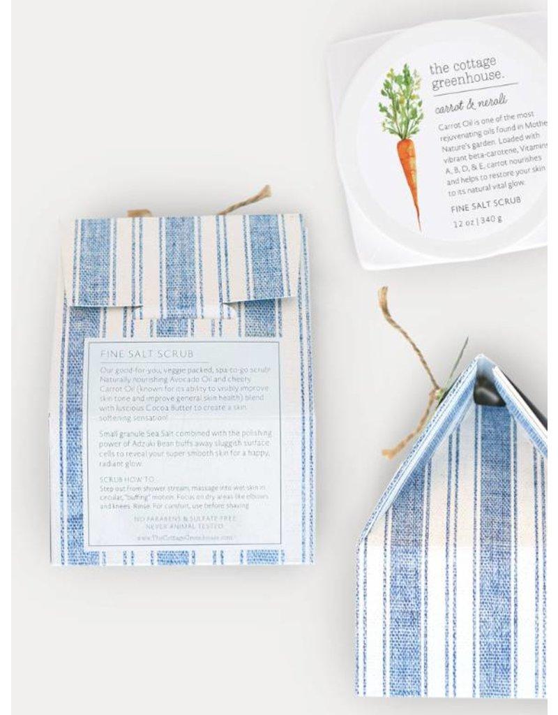 The Cottage Greenhouse Carrot & Neroli Salt Scrub