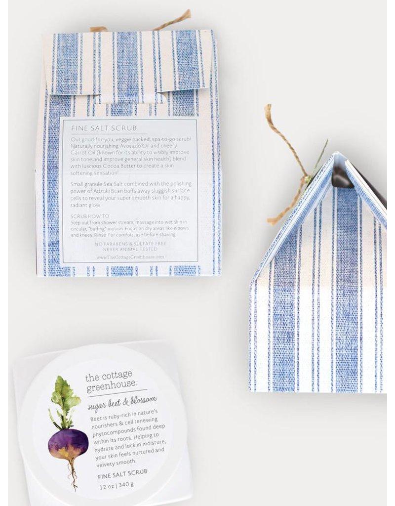 The Cottage Greenhouse Sugar Beet & Blossom Salt Scrub