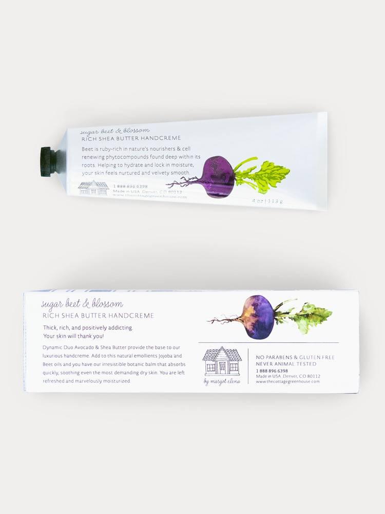 The Cottage Greenhouse Sugar & Beet Blossom Handcreme