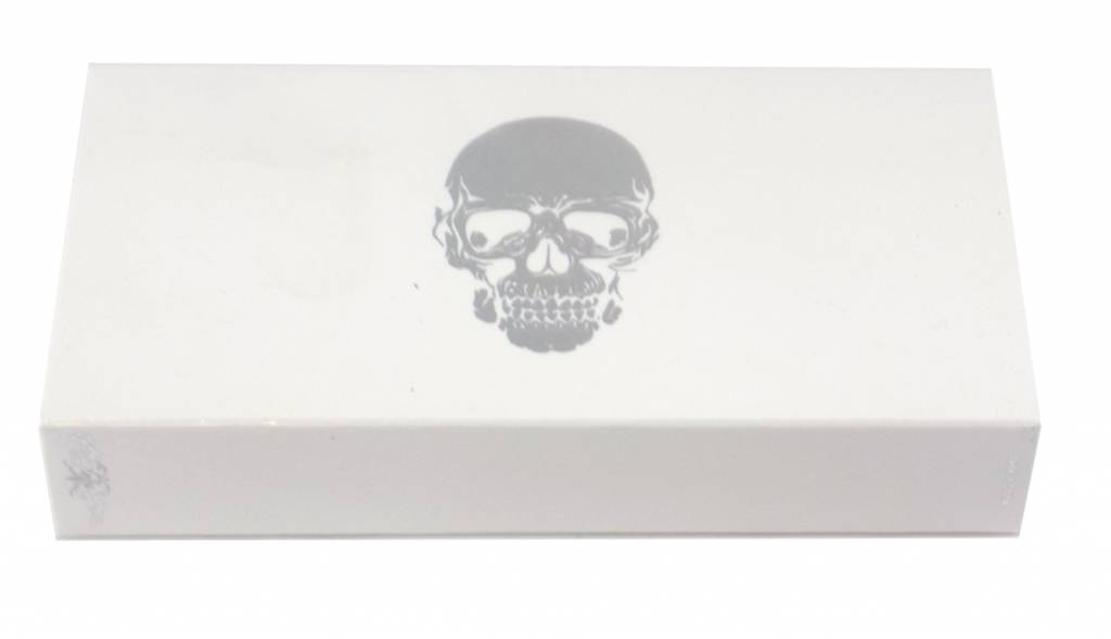 The Joy of Light Skull-White Matchbox