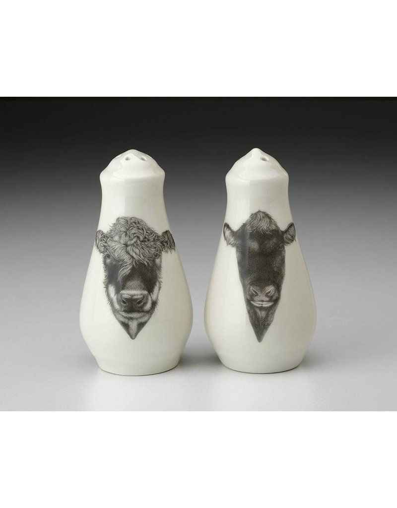 Laura Zindel Design Salt & Pepper: Cattle