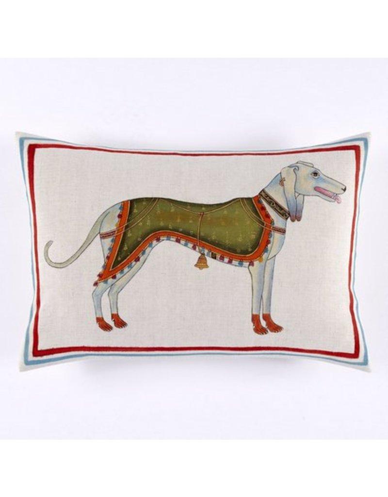 John Robshaw Dog Decorative Pillow
