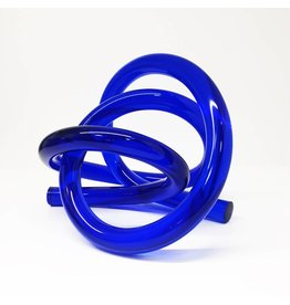 Somar Creations Blue Acrylic Sculpture