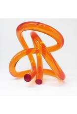 Somar Creations Orange Acrylic Sculpture