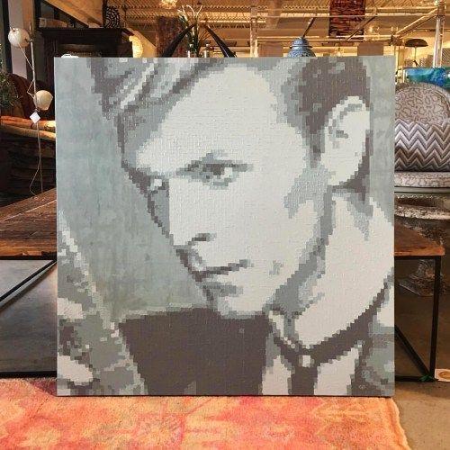 Carter Prine David Bowie Pixelated