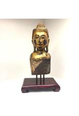 Teak Wood Buddha