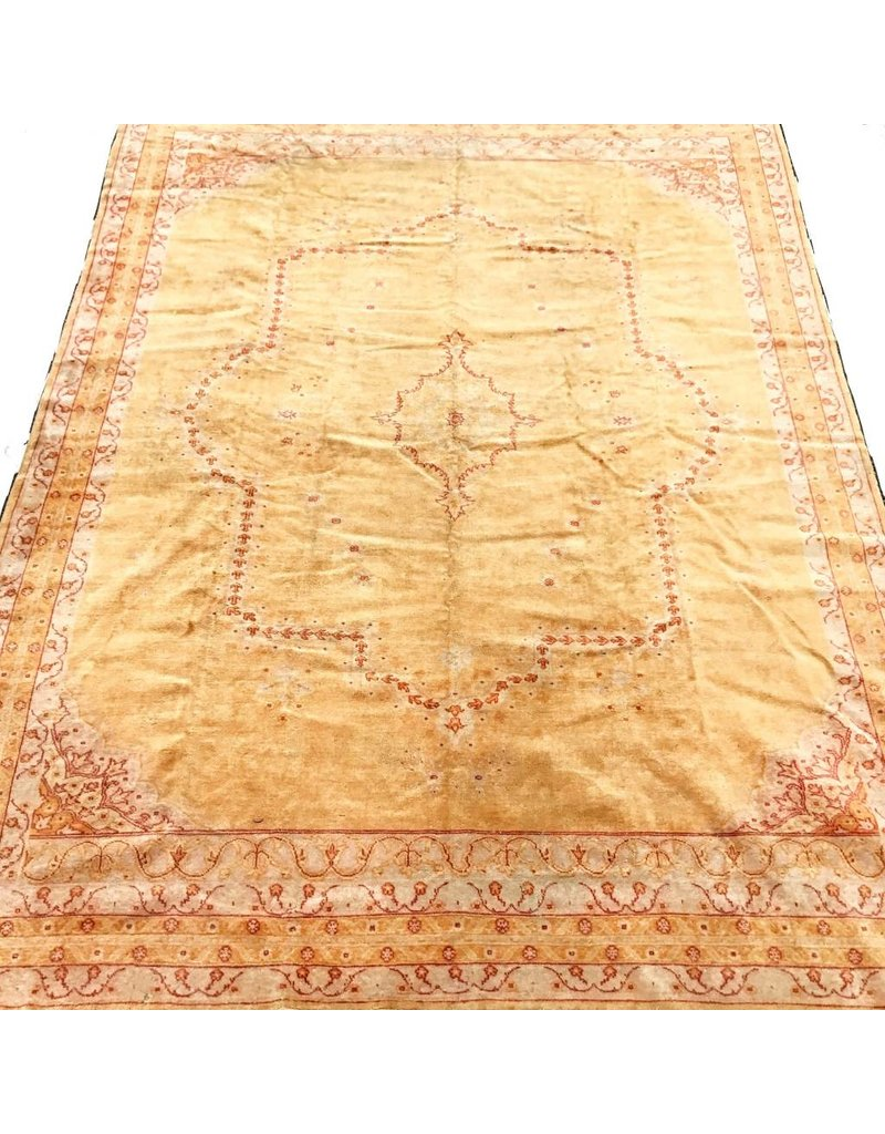 1880s Indian Amritsar 9'x12'