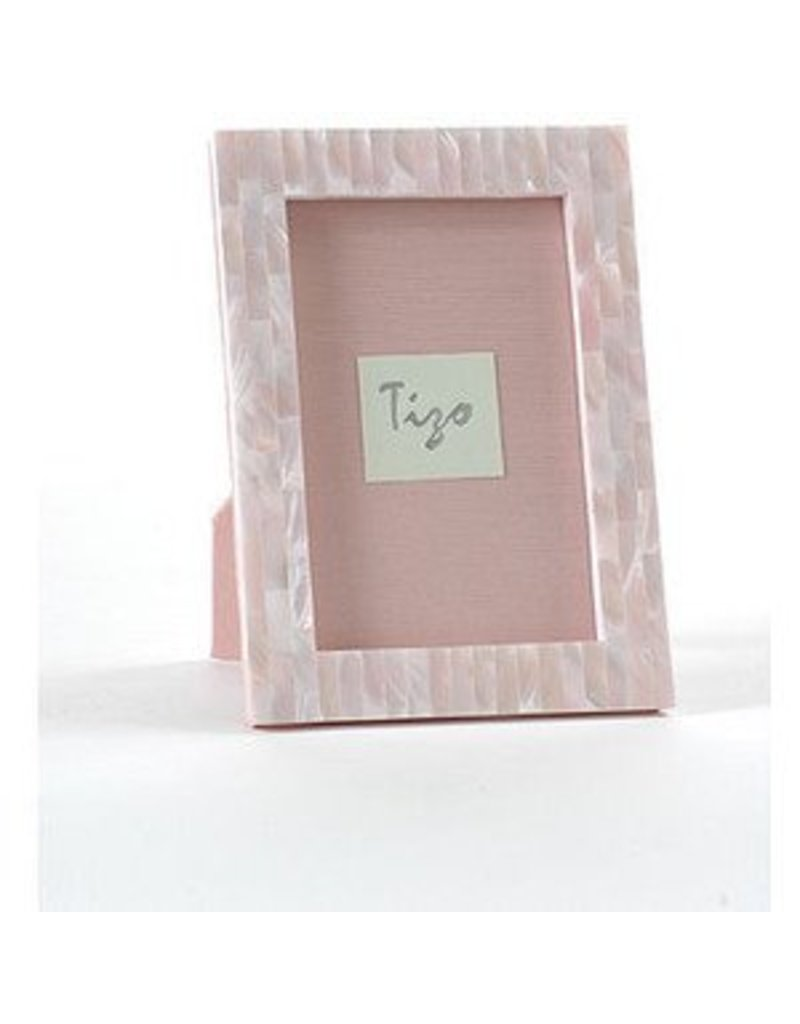 Tizo Pink Mother of Pearl Frame 4x6