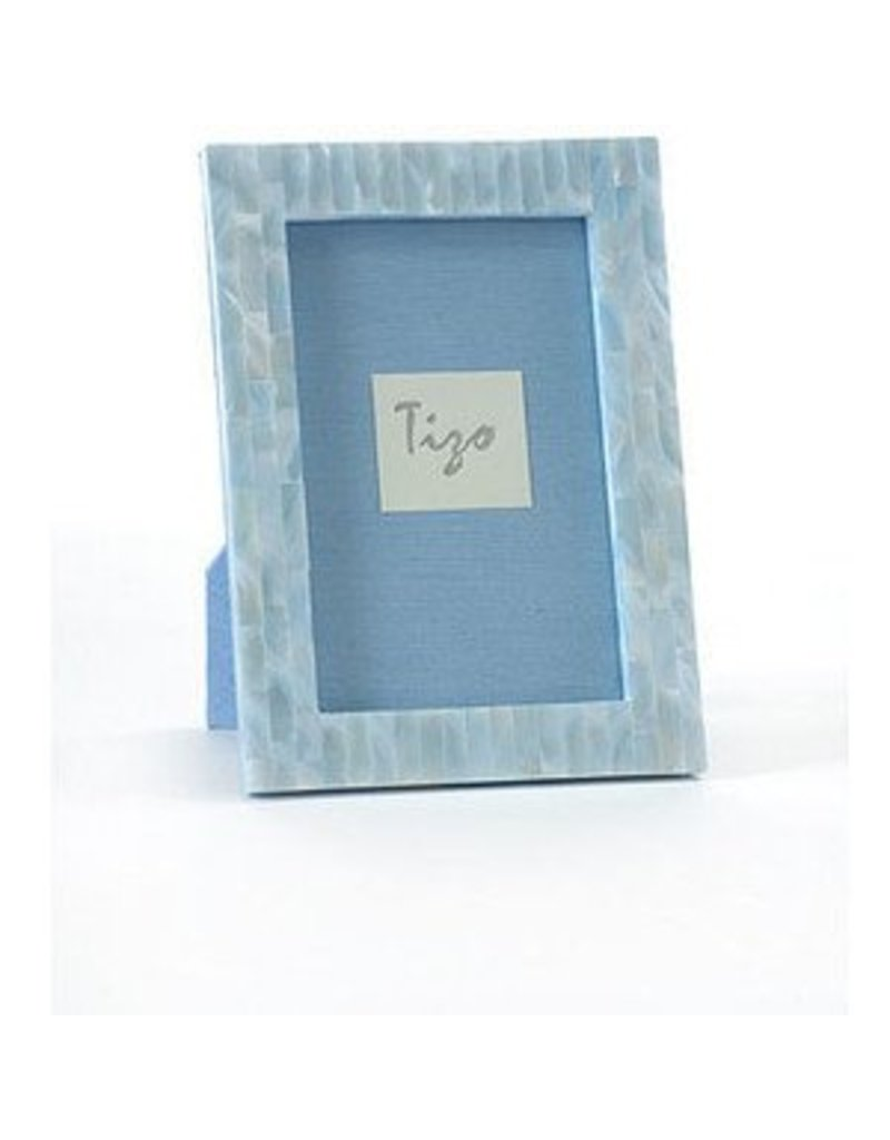 Tizo Tizo Blue Mother of Pearl Frame 4x6