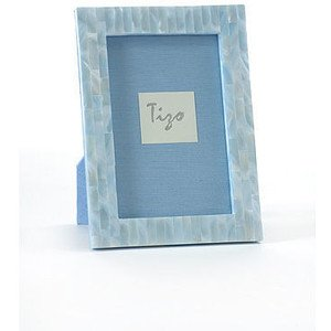tizo tizo blue mother of pearl frame 4x6 - Mother Of Pearl Frame