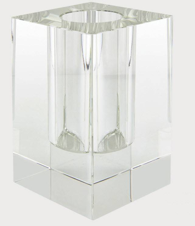 Tizo Crystal Glass Vase 6""