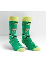 Sock It To Me Men's Crew Santa Rex