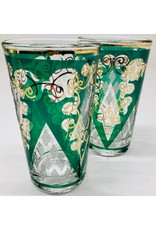 Mid Century Low Ball Glasses