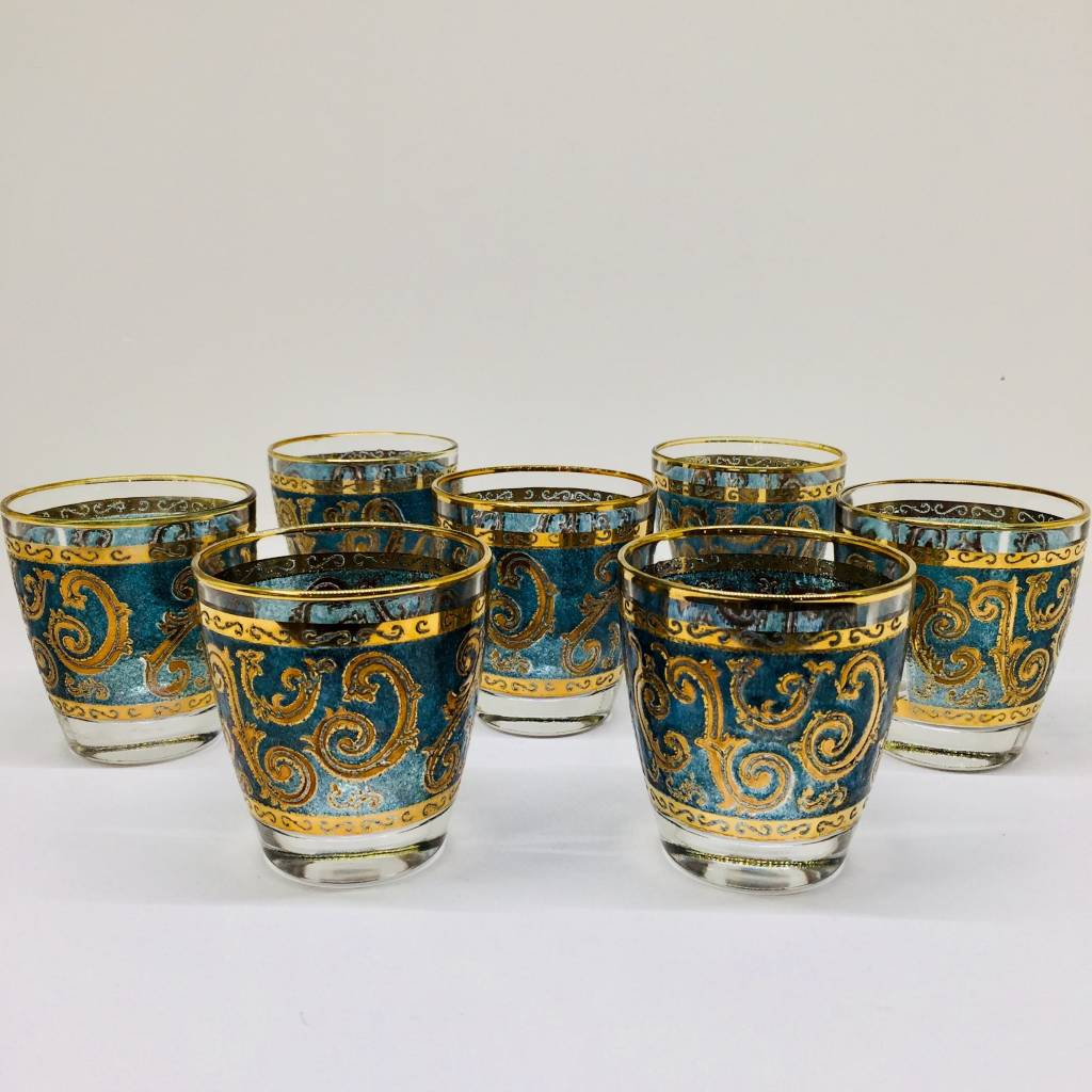 Culver Toledo Whisky Glasses