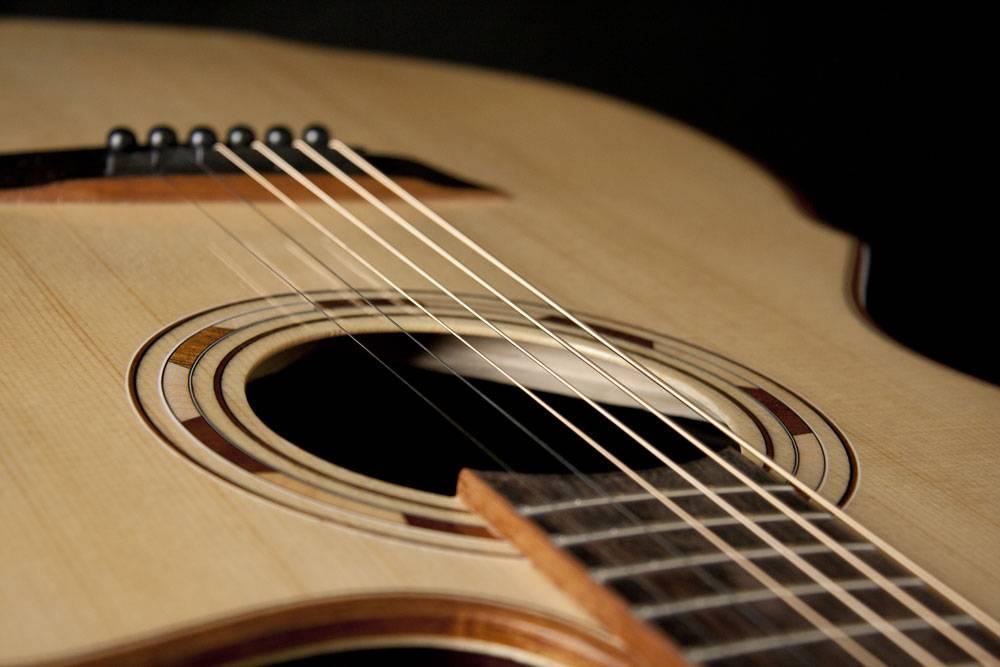Guitar String Wall