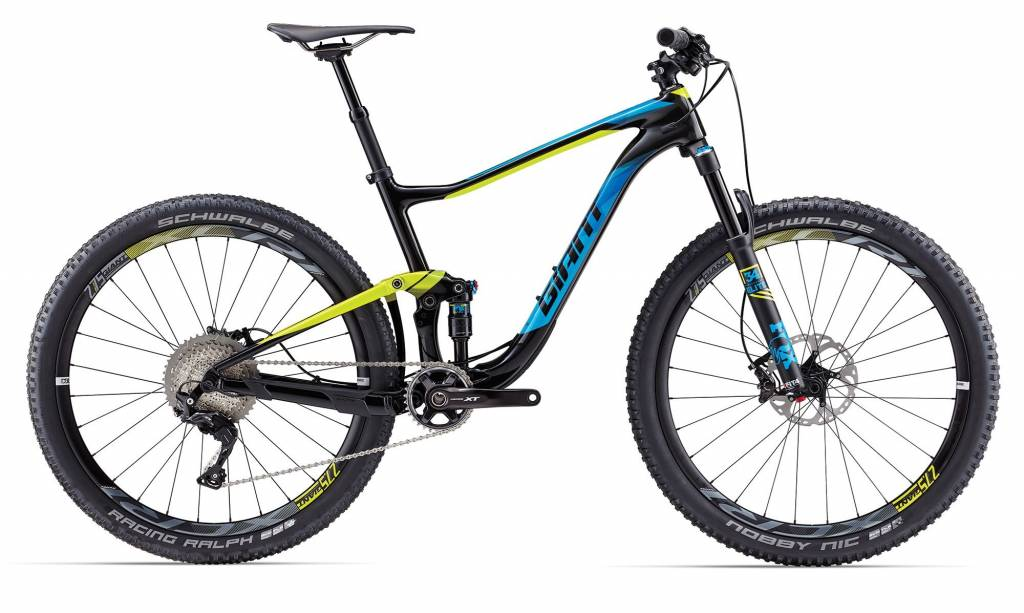 Giant 2017 Giant Anthem Advanced 1 M Composite/Yellow