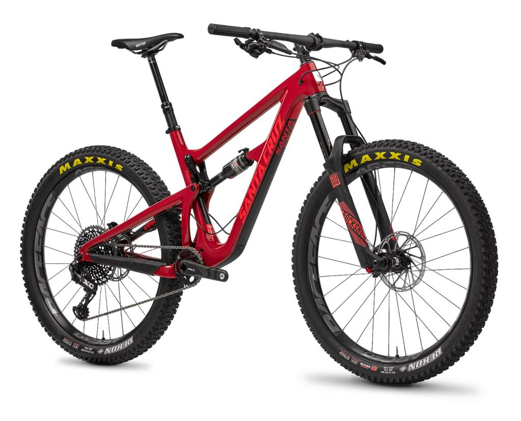 Santa Cruz Hightower 1.0 c S 29 2017 Red XL