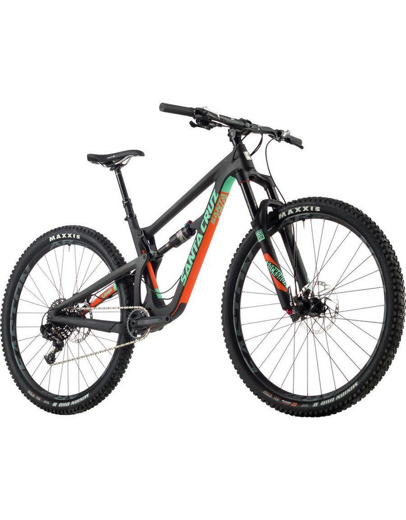 Santa Cruz Hightower 1.0 c S 29 2017 Blk/Grn LG