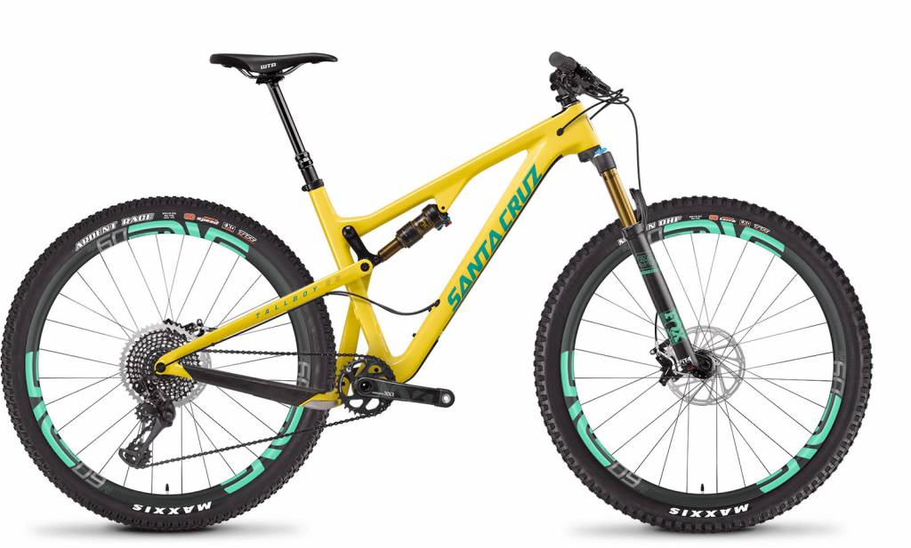 Santa Cruz Tallboy 3.0 c XL Gloss Yellow - Emerald SAM 29 Fox Float Perf, Tboy3 Fox 17 34 F120 Perf 29 Stock