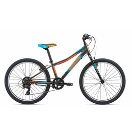 Giant XTC Jr 24 Lite Charcoal/Teal/Neon Orange
