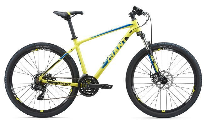 Giant ATX 27.5 2 S Yellow/Electric Blue/Black