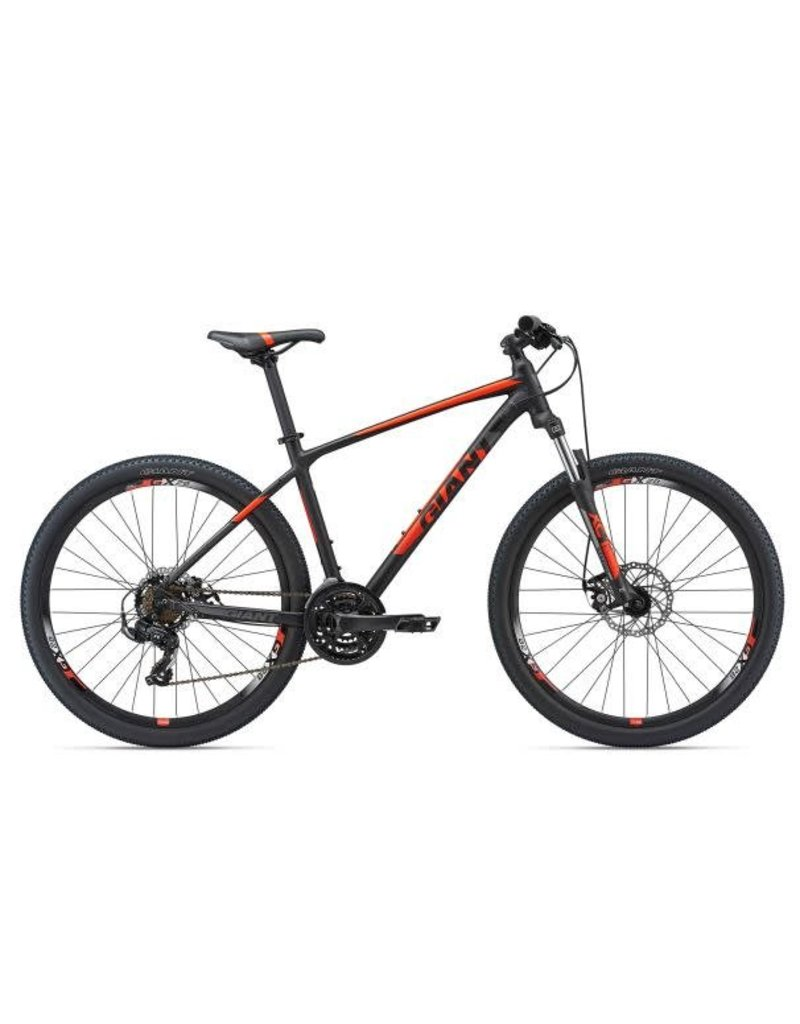 Giant ATX 2 26 XS Matte Black/Neon Red/Charcoal