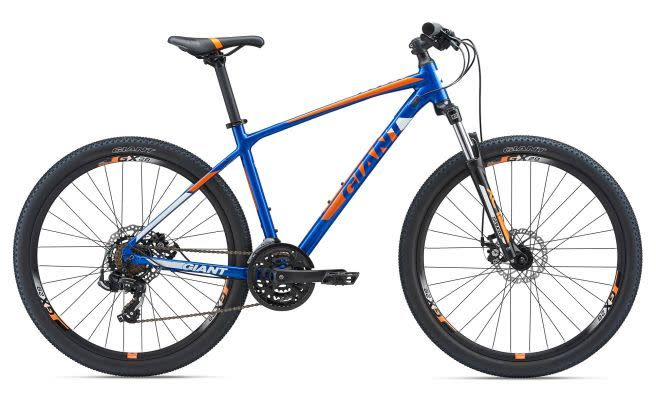 Giant ATX 27.5 2 S Electric Blue/Orange/White