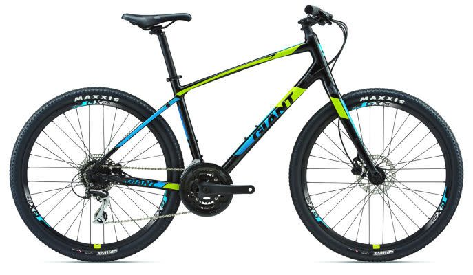 Giant ARX 2 L Matte Black/Yellow/Blue