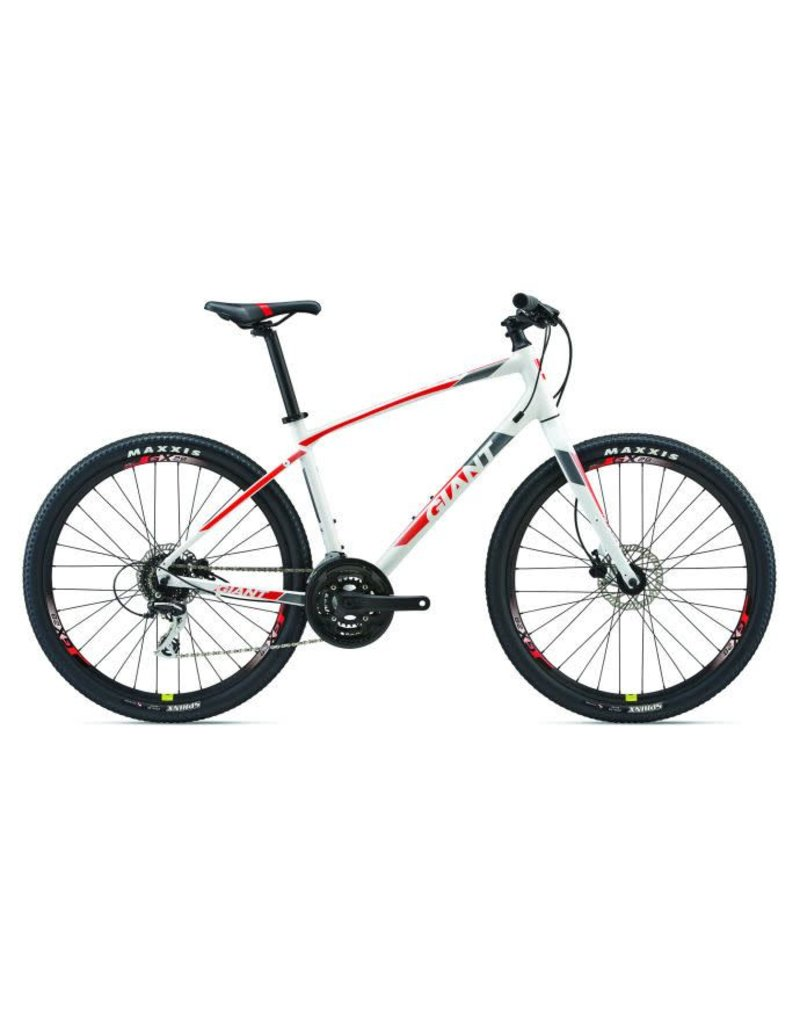 Giant ARX 2 M White/Neon Red/Charcoal