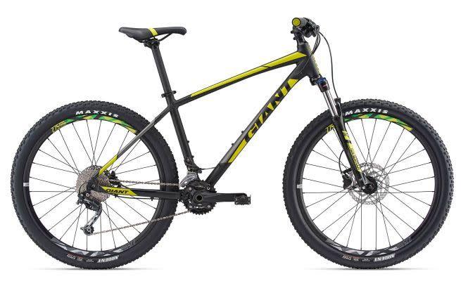 Giant Talon 2 L Matte Black/Neon Yellow