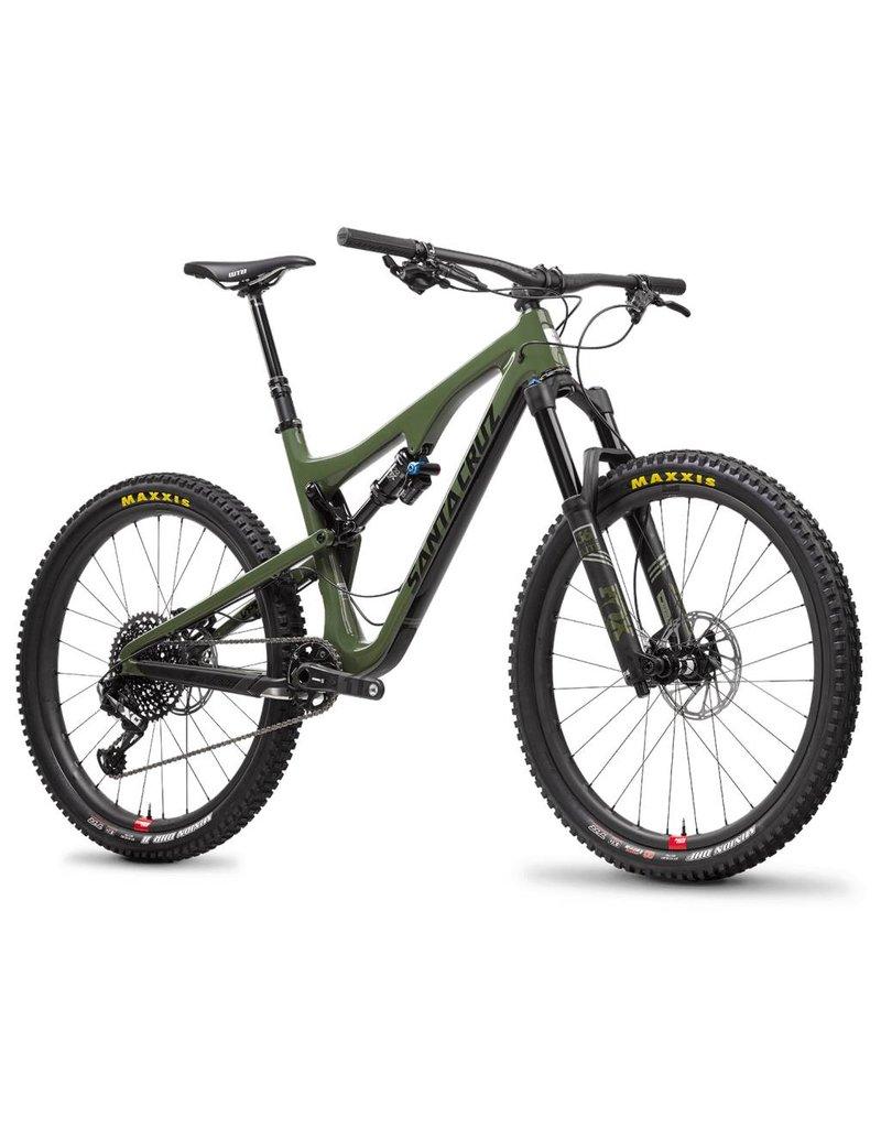 Santa Cruz Santa Cruz 18 Bronson 2.1 c S 27.5 Alloy Wheels Large Gloss Green - Black