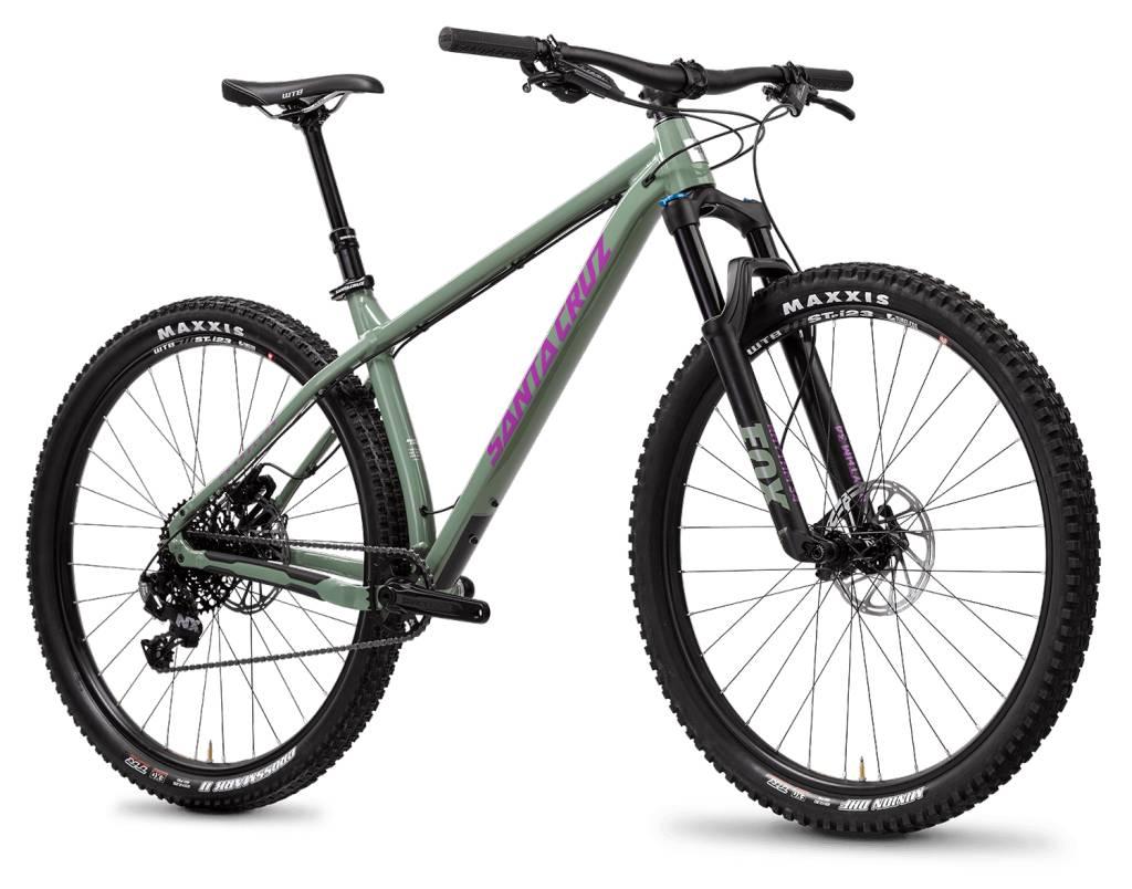 Santa Cruz Santa Cruz 18 Chameleon 7.0 a D 27.5+ Alloy Wheels Large Gloss Green - Purple