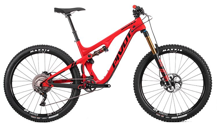 Pivot Cycles Pivot Mach 5.5 Carbon MD Red Pro XT/XTR 1x 27.5